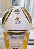 El Jabulani, balon oficial de la Copa del Mundo de 2010.